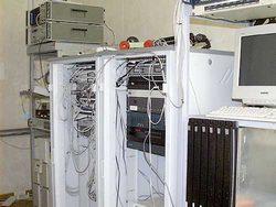 Пример типовой серверной